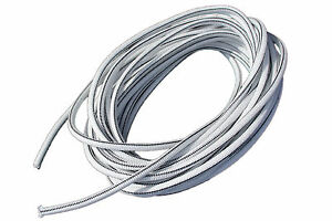 "USA 1/2"" x 25' Bungee Cord Shock Cord Bungie Cord Marine Grade Stretch Cord WHT"