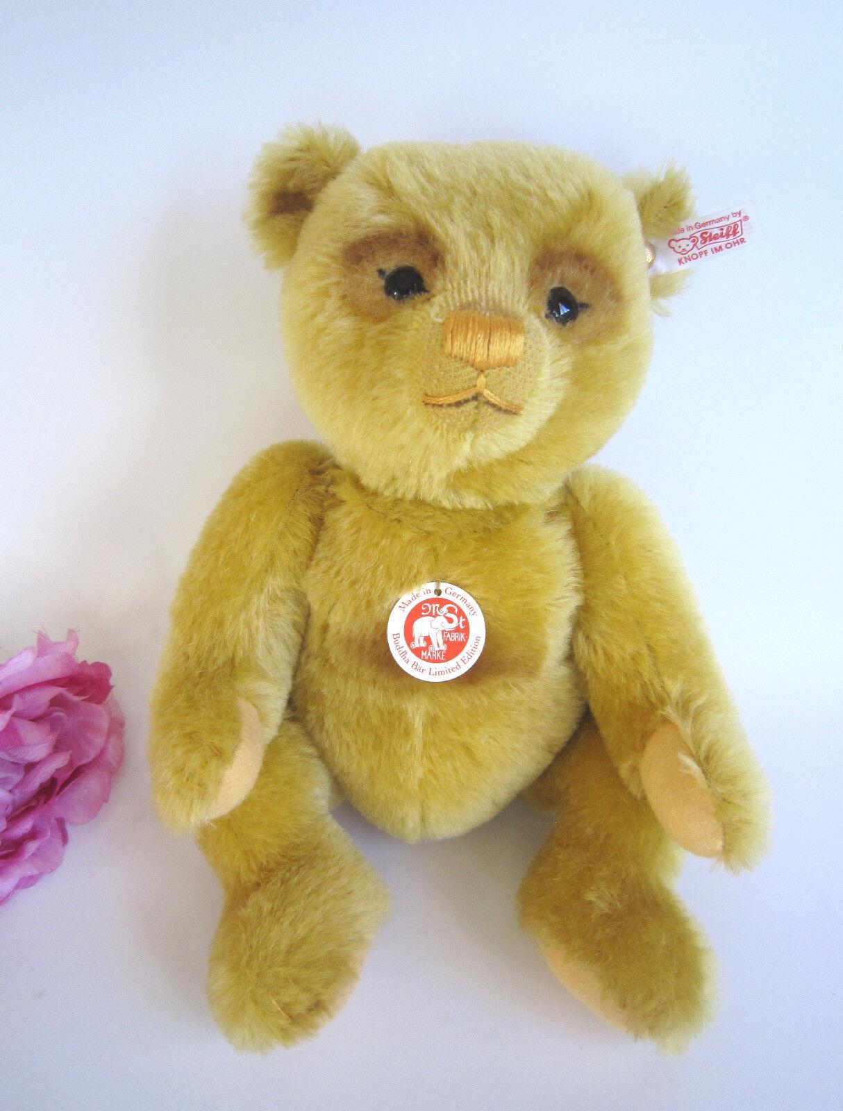 Steiff Mohair Buddha Bear. LIM. ed. Nuovo di zecca. EAN 036521. STUPENDO.