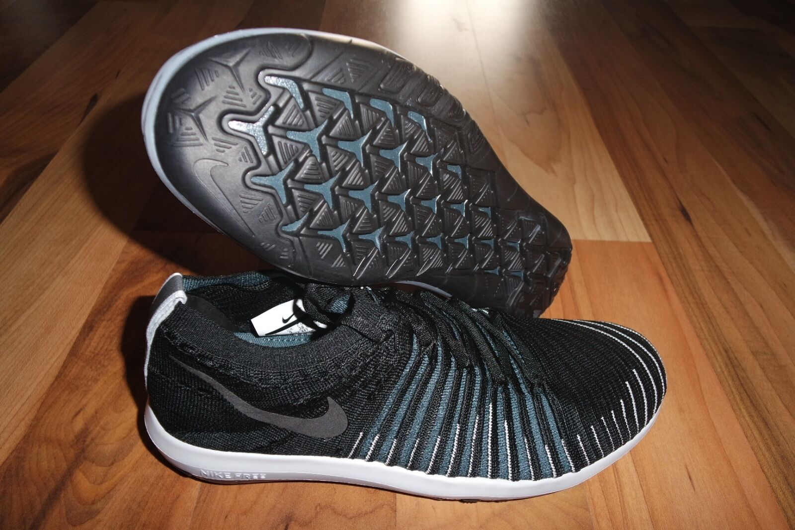 WMNS NIKELAB FREE TRANSFORM FLYKNIT 878552 001 RUNNING TRAINING SHOES SHOES SHOES US 7.5 bf6030
