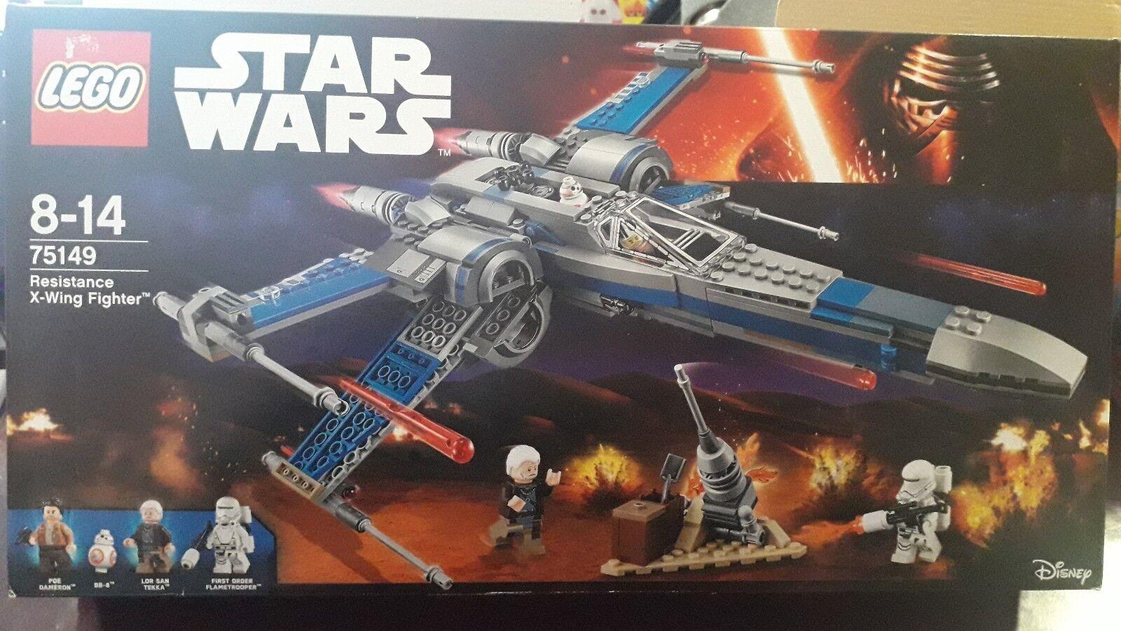 LEGO STAR WARS 75149 RESISTANCE X-WING FIGHTER NEW  NUEVO A ESTRENAR