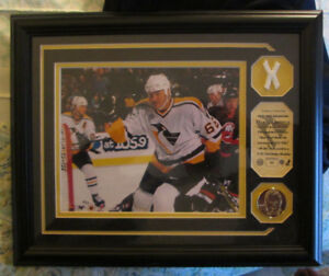 new style 03e6a 20f98 HIGHLAND MINT MARIO LEMIEUX COIN GAME USED NET FROM ALL STAR ...