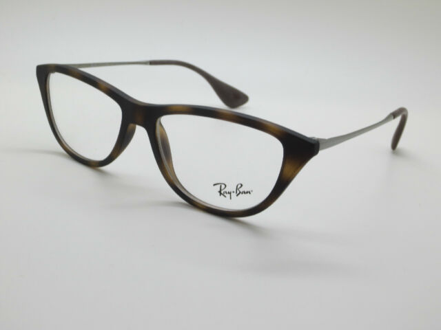 2e654e5c08 NEW Authentic Ray Ban RB 7042 5365 Matte Tortoise 54mm RX Cat-Eye Eyeglasses
