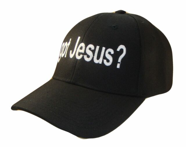 6a6716c1598 Got Jesus Religious Christian Theme Adjust Baseball Cap Caps Hat Hats God  Black