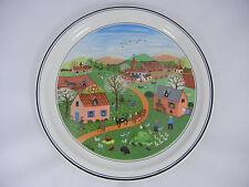Villeroy & Boch V&B Wandteller 4-Jahreszeiten LAPLAU Frühling (meine Pos. 11)