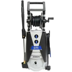 AR Blue Clean Supreme 2000 PSI (Electric Cold-Water) Pressure Washer w/ Total...