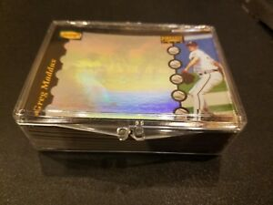 New 1996 Dennys Pinnacle Hologram Baseball Cards Complete Set 28 Cards Great