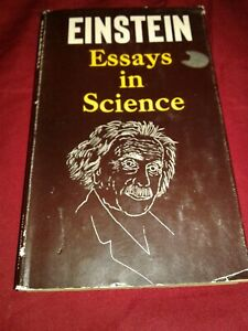 albert einstein essays in science  theory of relativity  meanders  image is loading alberteinsteinessaysinsciencetheoryofrelativity