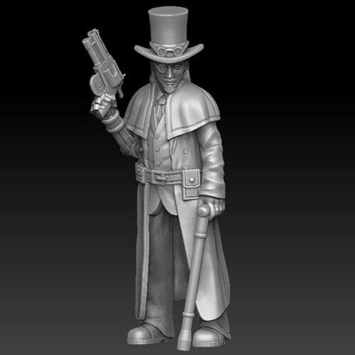 28mm Steampunk Gunslinger D/&D Onmioji