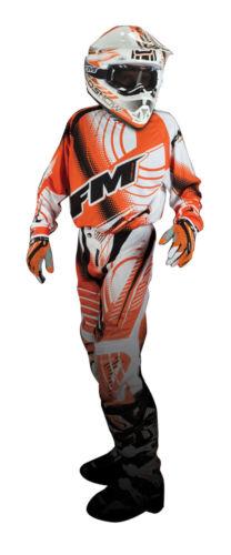 Completo Cross Bambino FM Racing X20 Arancione OFFERTA