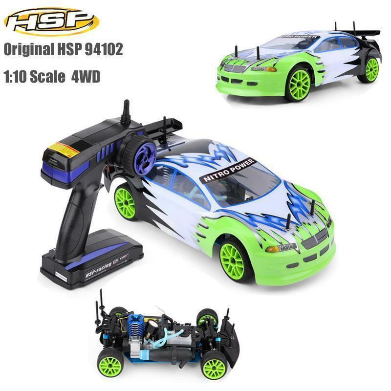 HSP  RC modello Vehicle 1 10Scale Four-rueda Drive Gas energiaosso Cross Country RC auto  i nuovi stili più caldi