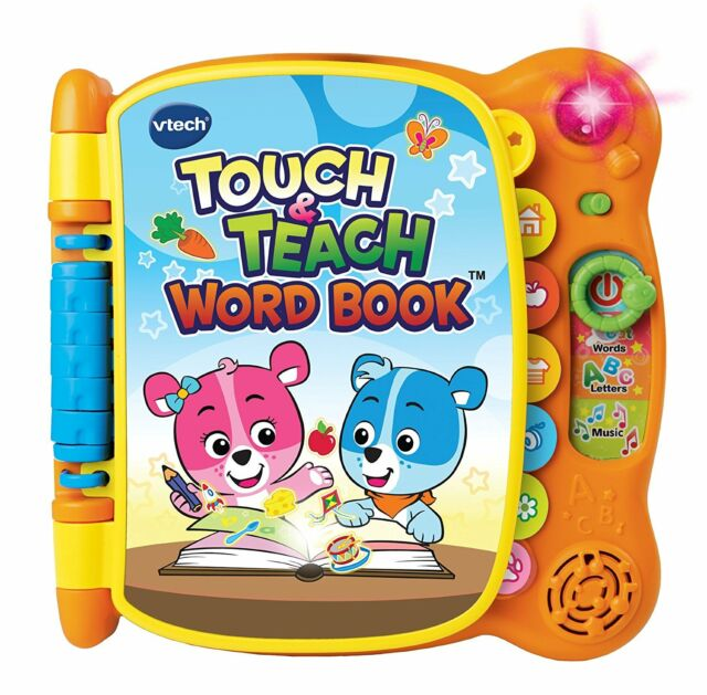 Educational Toys For 2 Year Olds Kids Learning Toddlers 100 Word Book Reading For Sale Online