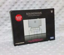 TransFormers Music Label Black SoundWave MP3 Player Tomy Takara Movie Lot G1 TLK