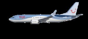 Tuifly-Boeing-737-8-MAX-1-100-Massstab-Herpa-39cm-D-AMAX-ohne-Karton
