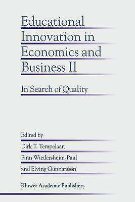 1 of 1 - Educational Innovation in Economics and Business II: In Search of Quality: v. 2,