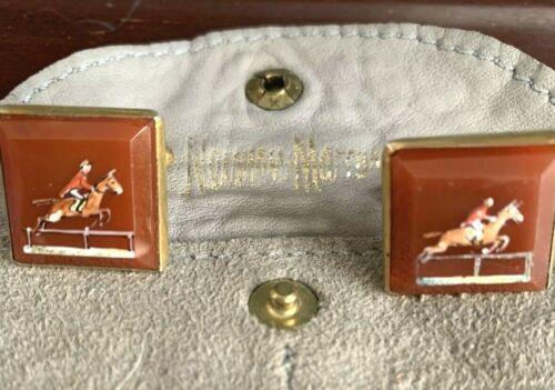 193040s Race Horse Cufflinks