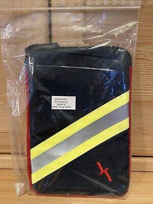 "Reißverschluss Schutztasche Tablet 8/"" Original Stoff NOMEX TOUGH BLAU TEXPORT m"