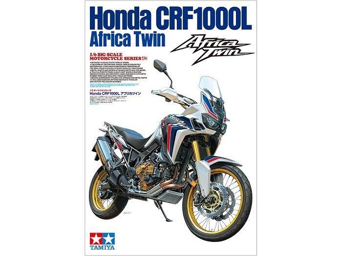 Tamiya 16042 - 1/6 Honda Crf 1000L Africa Twin - Nuovo