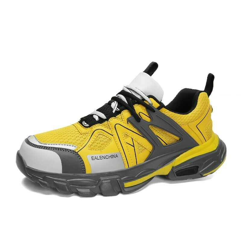 Mens Athletic Sport Sneaker Splice Mesh Leisure Running shoes Round Toe Outdoor