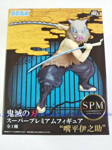 Demon Slayer Kimetsu no Yaiba Super Premium Figure Inosuke Hashibira SEGA