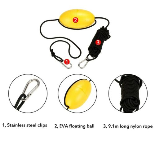 Kayaking Drift Buoy Anchor Rope Ship Traction Rope Stability Anchor Rope A Q4Q8