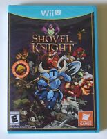 Factory Sealed Shovel Knight (nintendo Wii U, 2015) Video Game Box Manual