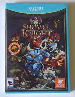 Factory Sealed Shovel Knight (nintendo Wii U, 2015) Video Game Box Manual