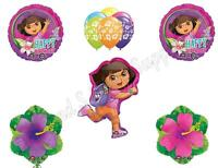 Dora The Explorer Birthday Party Balloons Decoration Supplies Nick Summer