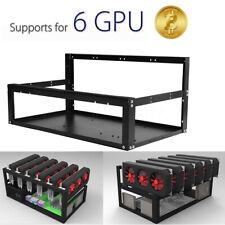 19 GPU Open Air Mining Rig Case Frame Bitcoin zCash Ethereum BTC LTC Coin