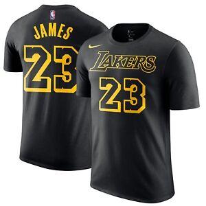 67de93c6591 Nike 2018 Los Angeles Lakers LeBron James City Edition Dri-FIT ...