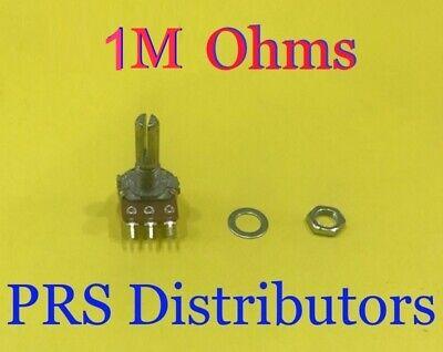 1M OHMS Linear Panel Mount Volume Control B1M Potentiometer 3 terminals 1 Mega