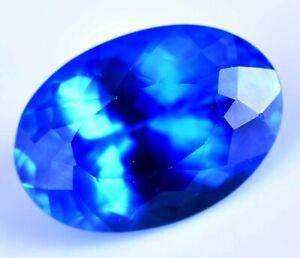 Certified-Natural-16-50-Ct-Rare-Lustrous-Blue-Tanzanite-Loose-AAA-Gemstone