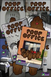 POOP-OFFICE-1-6-Complete-Set-It-039-s-034-Mr-Hankey-meets-the-Office-034-1-2-3-4-5-6