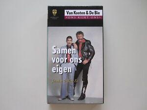 VAN KOOTEN & DE BIE - SAMEN VOOR ONS EIGEN - VHS