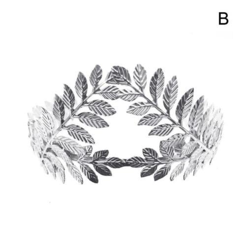 Frauen Stirnband Göttin Blatt Blume Haar Krone Kopfstück Gold Elegante Braut