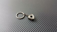 Phase 2  Metal Valve Cover Keychain for Mazda RX7 RX8 13B Rotary Black Chrome
