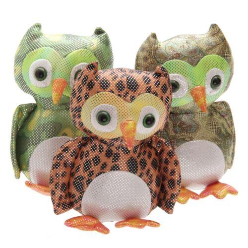 Eule Sandtier Höhe 15 cm sandgefüllt Türstopper Briefbeschwerer owl