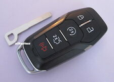 NEW OEM FORD smart proxy keyless entry remote fob transmitter +UNCUT KEY INSERT