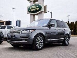 2017 Land Rover Range Rover FULL SIZE DIESEL W/ REMOTE START APP