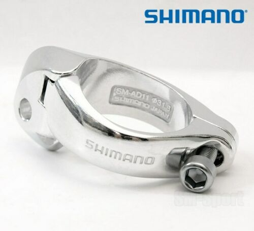 Shimano SM-AD11 Front Derailleur Braze-on Clamp Band Adaptor 31.8mm