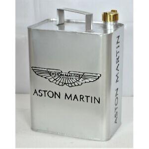 Aston-Martin-Aluminium-oil-Petrol-Jerry-Can-Reproduction-Brass-Cap-Car-Garage-2
