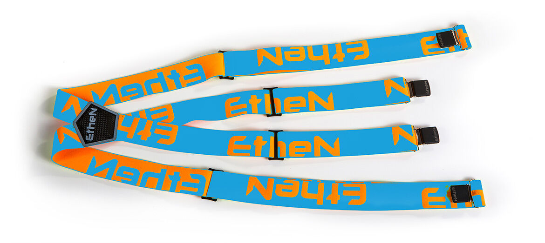ETHEN Outfit Träger Elasticized Einstellbar Elastisch Braces BR0105