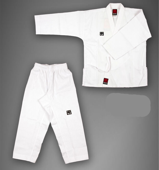 MOOTO Korean TaeKwonDo Basic4 White Open DOBOK uniform uniforms Tae Kwon Do TKD