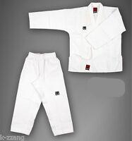 Mooto Korean Taekwondo Basic4 White Open Dobok Uniform Uniforms Tae Kwon Do Tkd