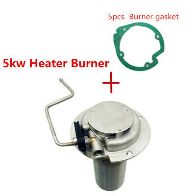 1Pc 5kw Heater Burner+5Pcs Burner Gasket For Air Diesel Parking Heater Truck Bus