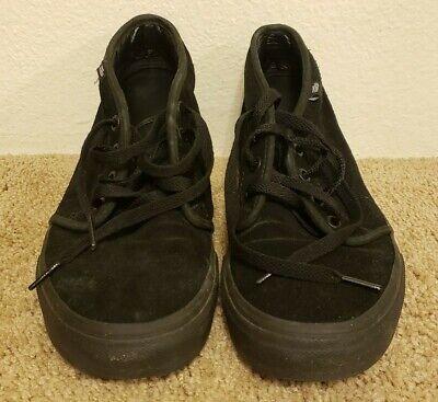 black vans mens size 8