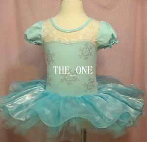 Frozen-Vestido-De-Fiesta-Elsa-Tutu-Baile-azul-disfraces-cosplay-Existencia-RU