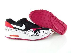 Nike Air Max 1 Print W shoes black pink orange