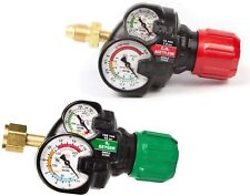 Set Of Genuine Victor Edge Ess3 20 Oxygen Amp Acetylene Regulators