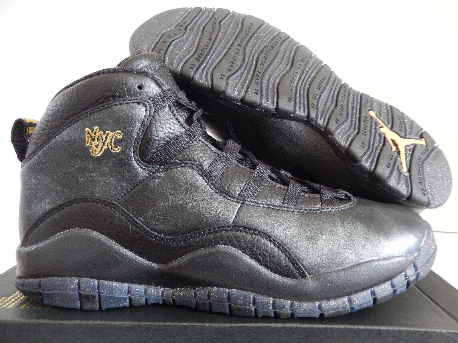 Nike air jordan 10 retrò bg new york city pack sz 4y-Donna sz - 310806-012]