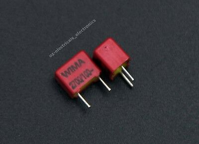 WIMA FKP2 7500P 7,5nF 10pcs 63V 2.5/% pitch:5mm Capacitor